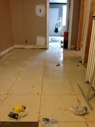 how much tile should one do in a day kitchens baths