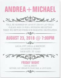Wedding Reception ly Invitation