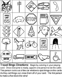 Print All 5 Travel Bingo Pages Each Player Gets A Different Board 2 Appoint One Person To Be The Caller Its This Persons Job Look