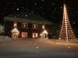 Flagpole Christmas Tree by Gallery Montejaur