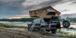 100 Tacoma Truck Tent Camp And Carry PrinSu Design Studio Toprac Video DrivingLine