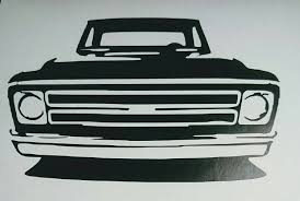 INTRO SALEChevy C10 Pickup Vinyl Decal/Sticker For Cars | Etsy 2018 For Deadpool Chevy Ford Dodge Pickup Truck Bed Stripes Decal Product 2 Z85 Sticker Parts For Silverado Or Gmc Flow 62018 Vinyl Decals Side Hood 3m Z71 Off Road Stickers Firefighter Edition 4x4 Fire Department Stickers American Flag Tailgate Inshane Designs Graphicschevy Shadow M Graphics Duramax Diesel Decals Blem Sierra 2013 Chevrolet 1500 Overview Cargurus