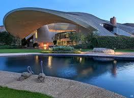 100 Lautner House Palm Springs MidCentury Modern Freak 1973 Bob Hope Architect