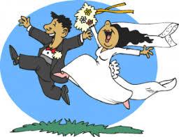 Cute Wedding Reception Clipart