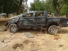 100 Military Pickup Trucks Kill I6 Boko Haram Terrorists Recover Gun In