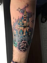 cinderella castle tattoo by megan kovak sink the ink doylestown