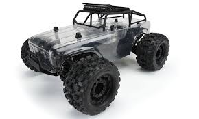 100 4x4 Truck Tires Ambush Monster W Trail Case PreBuilt Roller Hobby