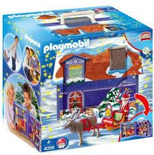maison du pere noel playmobil 1d spécial fêtes fête de noël 4058 maison du père noël de