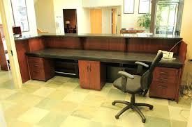 Office Desk Accessories Walmart by Modern Office Furniture Reception Desk U2013 Netztor Me