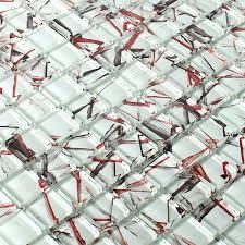 weiß mosaik fliesen glasmosaik ideal für die küche und
