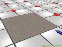 Laminate Flooring Bubbles Due To Water by 3 Ways To Repair Vinyl Flooring Wikihow