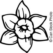 Simple Flower Drawing Illustrations And Clip Art 12099
