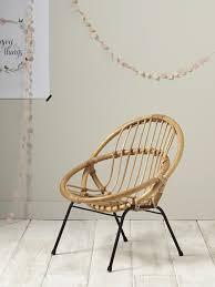 siege en rotin fauteuil enfant en rotin maison vetement et déco cyrillus