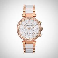 Michael Kors Parker Damen Chronograph Quarz Uhr