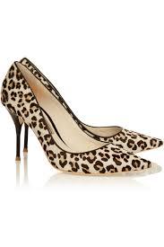 sophia webster lola leopard print calf hair pumps lyst