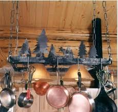 Johnson Creek Pot Rack Deer Kitchen And Dining Decor Shop By Theme At Rocky Mountain Cabin