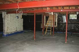 Floor Joist Jack Crawl Space by Lowering A Basement Floor Jlc Online Basement Concrete