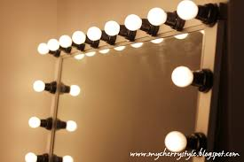 Diy Vanity Table With Lights by Bedroom Pretty Diy Hollywood Style Mirror With Lights Tutorial