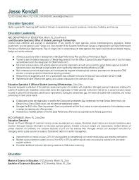 Special Education Teacher Resume Samples Examples Math Assistant R