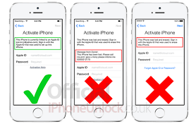 Remove iCloud Activation Lock iPhone 4 4s 5 5s 5c 6 & 6