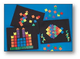 Paper Mosaics Craft Kit Arts And Crafts Kits For Ages 3