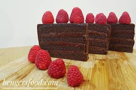 Chocolate Cake with Raspberry Ganache – BenGer s Food