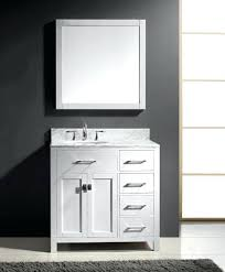 60 Inch Bathroom Vanity Single Sink Black by Wonderful Bathroom Vanity Offset Sink Vanities Single Sink Vanity