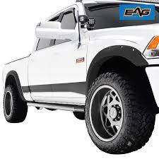 100 Truck Flares Amazoncom EAG Front Rear Fender 4PC Pocket Rivet Style