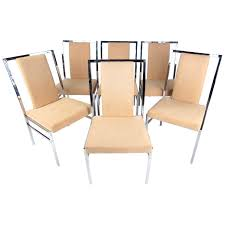 Cool Chrome Dining Chairs Uk White Faux Leather With Legs ...