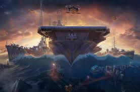 Uss Hornet Halloween Tour by Rise Of The Phantom Fortress Live Hornet Event World Of Warships