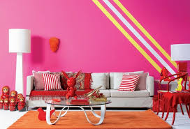 طلاء الجدار الوردي 31 أمثلة رائعة