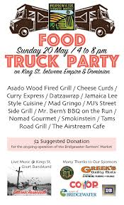 Bridgewater Farmers' Market - 2nd Annual Food Truck Party - May 20 ... Food Truck Theme Party Trucks Invitation Etsy Joeys Red Hots Kid Birthday Party Youtube Party Menu Template Design Fly Torchys Tacos Trailer Park Closing With Free Tacos And Queso At Spotz Gelato Offering Kentucky Proud Sorbet Truck Palate On Vimeo Incporating Trucks Into Private Catering Bip 2012 The Rodeo A Bay Vista Taqueria Cabarita Beach Bowls Sports Club 13 Reasons You Want At Your Next Thumbtack Journal Miami Fort Lauderdale Palm Pittsburgh Announces April 6 Opening