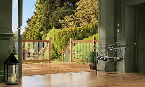 100 Clearview Decking Treated Softwood Glass Rail