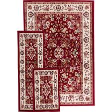 Red And Black Bathroom Rug Set by Area Rugs Wonderful Jcpenney Rug Runners Area And Runner Sets