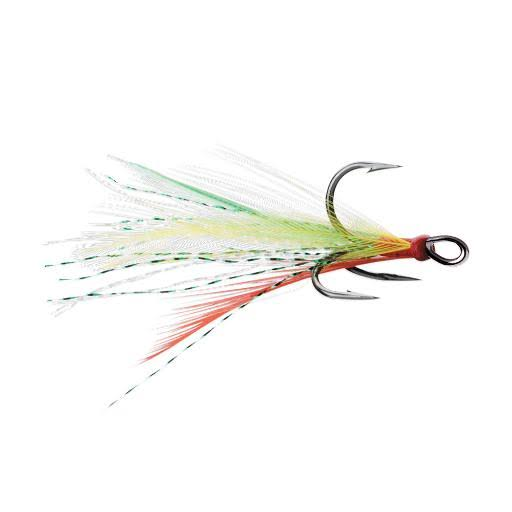 VMC Dressed X-Rap Treble Hook - Fire Tiger - #4