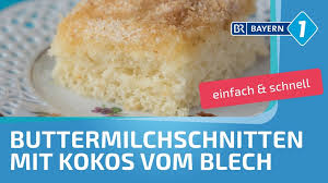 buttermilchkuchen buttermilchschnitten vom blech bayern 1