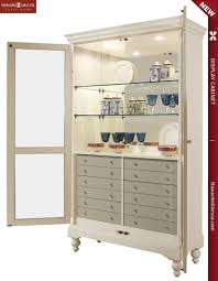 Six Drawer Storage Cabinet by 680511 Howard Miller Six Drawers Contemporary Curio Display Cabinet