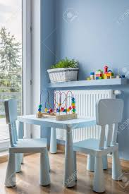 Blue Baby Room With Balcony, Light Blue Small Table And Chairs Stock ... Greek Style Blue Table And Chairs Kos Dodecanese Islands Shabby Chic Kitchen Table Chairs Blue Ding Http Outdoor Restaurant With And Yellow Crete Stock Photos 24x48 Activity Set Yuycx00132recttblueegg Shop The Pagosa Springs Patio Collection On Lowescom Tables Amusing Ding Set 7 Piece 4 Kids Playset Intraspace Little Tikes Bright N Bold Free Shipping Balcony High Cushions Fniture Rst Brands Sol 3piece Bistro Setopbs3solbl The