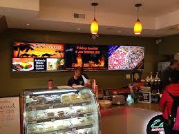 cuisine tv menut digital menu installations