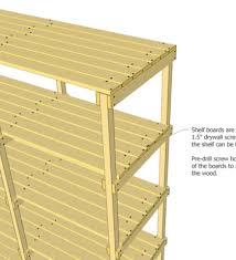 plans building storage shelves pdf woodworking making wood