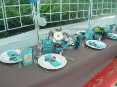 conseils déco de table bleu et gris tables bleues conseil deco