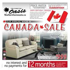 Fine Furniture Oasis Flyer July 1