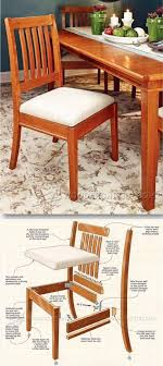 100 Wooden Dining Chairs Plans Chair Furniture And Projects WoodArchivist