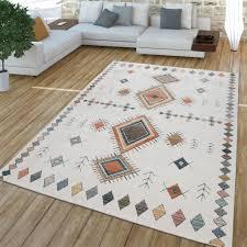 wohnzimmer teppich kurzflor modernes real de