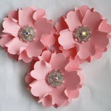 Paper Flower Making For Cards