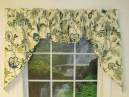 Jacobean Style Floral Curtains by Swag Curtains Solid Patterned Sheer