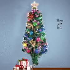 Fiber Optic Wall Christmas Tree