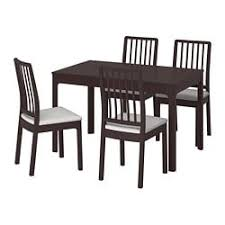EKEDALEN Table And 4 Chairs