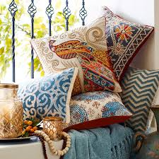 Pier One Blue Throw Pillows by Pier One Imports Pillows Eva Jacobean Pillow Pier 1 Imports