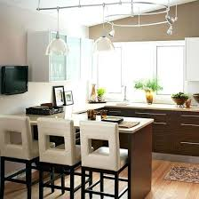 track lighting kitchen sloped ceiling images island
